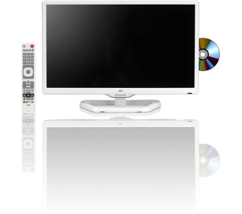 """- JVC LT-24C341 24"""" LED TV with Built-in DVD Player"""