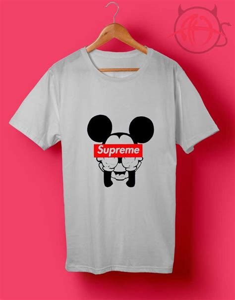Mickey Mouse Supreme T Shirt //Price: $14