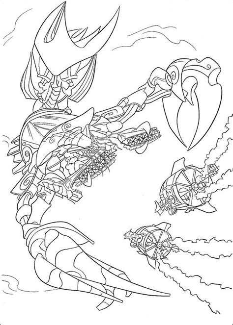 Atlantis coloring pages to download and print for free