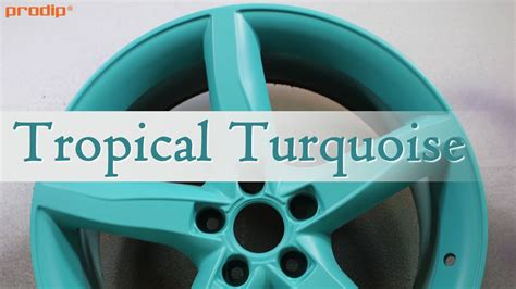 Tropical Turquoise Plasti Dip Classic Muscle Color - YouTube