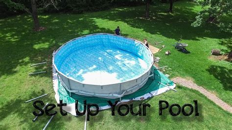 Setting Up Your Steel Frame Above Ground Pool - Intex