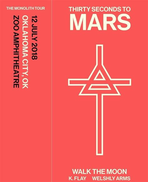 """30 Seconds To Mars Announce 2018 """"The Monolith Tour"""": See"""