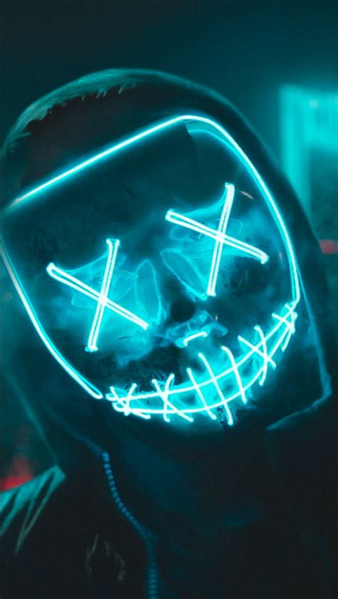 LED Mask 4K Wallpapers | HD Wallpapers | ID #28175