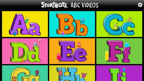 StoryBots® Turns One Year Old; Collection of Apps for Kids