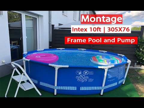 our new pool! summer escapes 16' x 48 proseries metal