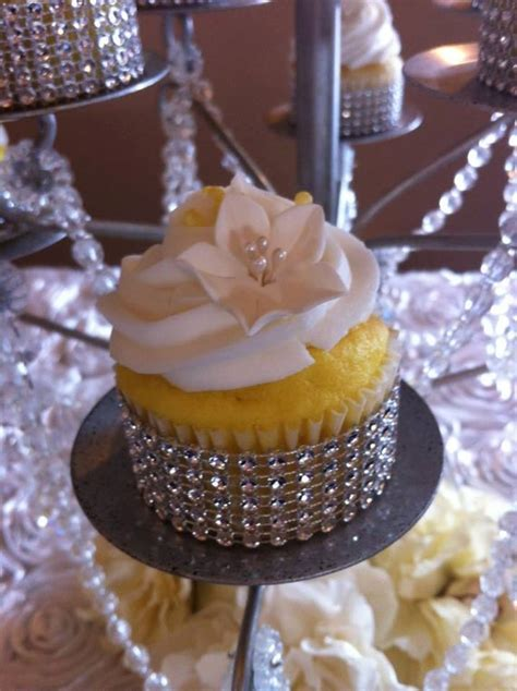 Items similar to Rhinestone cupcake wrappers on Etsy