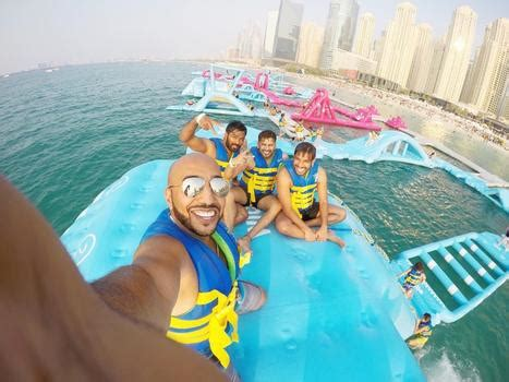 Dubai's Giant Inflatable Water Park Is Insanely Awesome